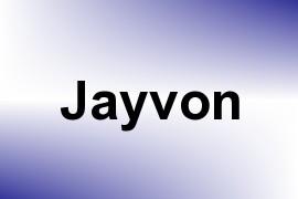 Jayvon name image