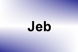 Jeb name image