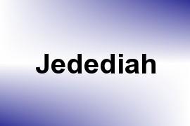 Jedediah name image