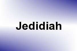 Jedidiah name image