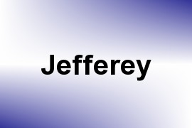 Jefferey name image