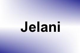 Jelani name image