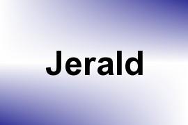 Jerald name image