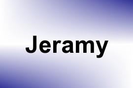 Jeramy name image