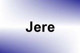 Jere name image