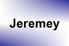 Jeremey name image