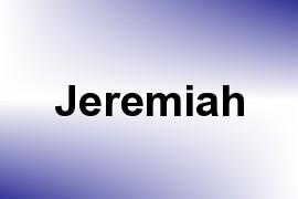 Jeremiah name image