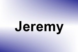 Jeremy name image