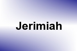 Jerimiah name image