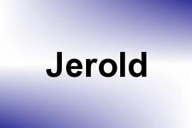 Jerold name image