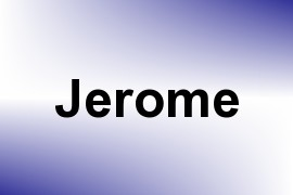 Jerome name image