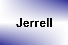 Jerrell name image