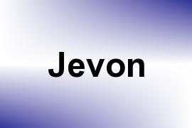 Jevon name image