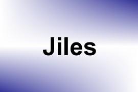Jiles name image