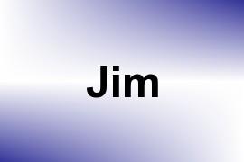 Jim name image