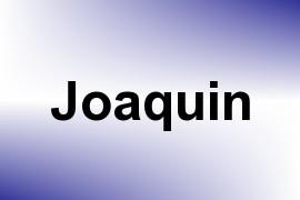 Joaquin name image