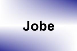 Jobe name image