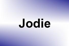 Jodie name image