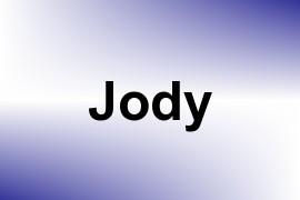Jody name image
