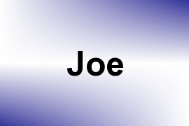 Joe name image