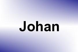 Johan name image