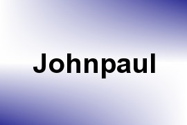 Johnpaul name image