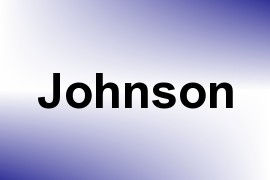 Johnson name image