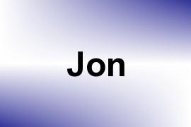 Jon name image