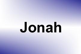 Jonah name image
