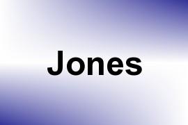Jones name image
