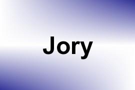 Jory name image