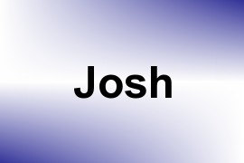Josh name image