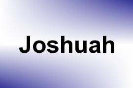 Joshuah name image