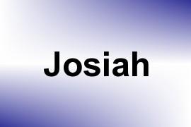 Josiah name image
