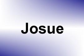 Josue name image