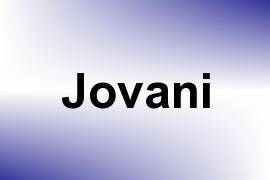 Jovani name image