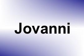 Jovanni name image