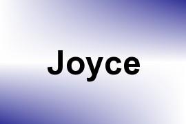 Joyce name image