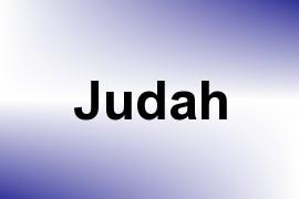 Judah name image