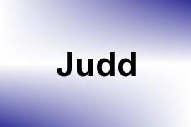 Judd name image