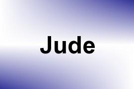 Jude name image