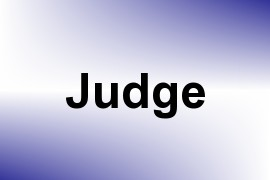 Judge name image