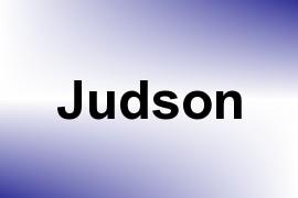 Judson name image