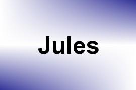 Jules name image