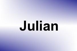 Julian name image