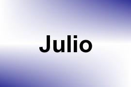 Julio name image