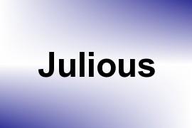 Julious name image