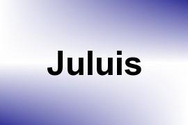 Juluis name image