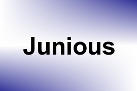 Junious name image