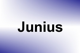 Junius name image
